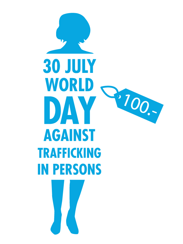 world day against trafficking in persons campaign images