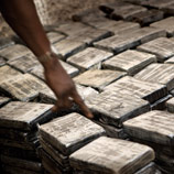 Cocaine seizure in Guinea Bissau. Photo: A. Scotti