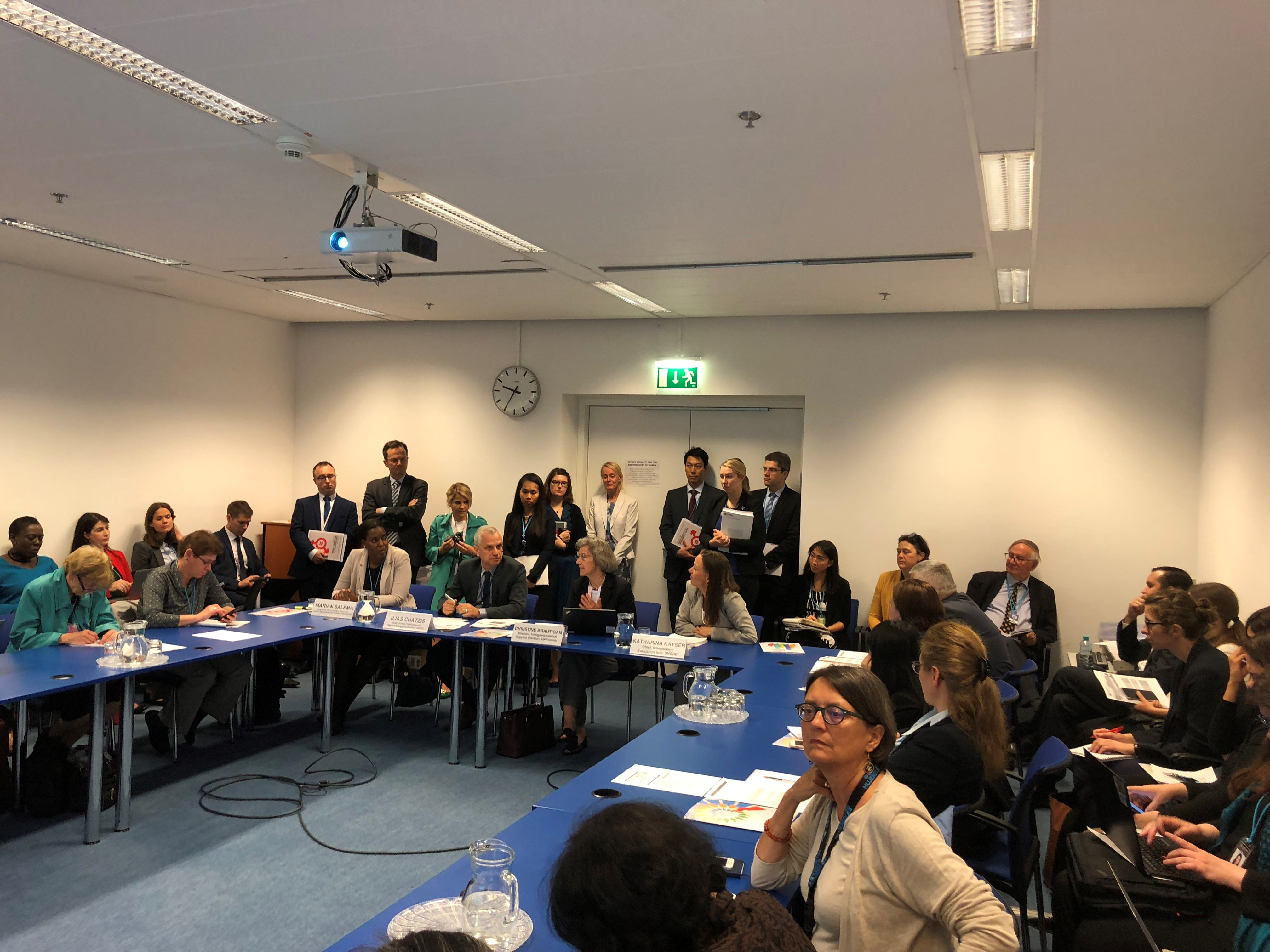 Instituting Transformative Change through gender-responsive programming and evaluation: showcasing UNODC'S advancements against Trafficking in Persons and Smuggling of Migrants