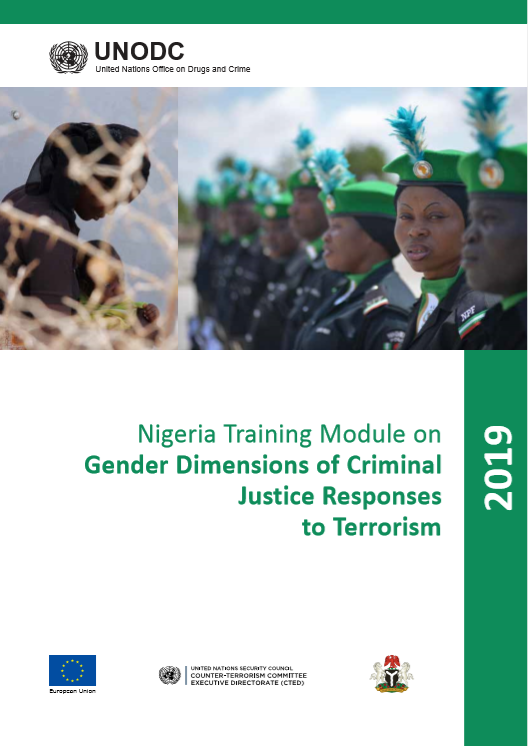 Cover of Nigeria Training Module on Gender Dimensions of Criminal Justice Responses to Terrorism