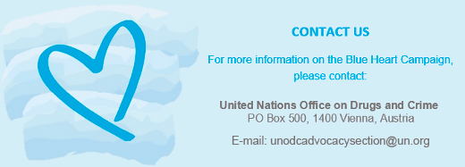 unodc.org - alexander.sauer - Blue Heart Campaign against Human Trafficking