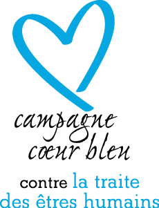 Logo Blue Heart French