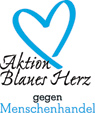 Logo Blue Heart German