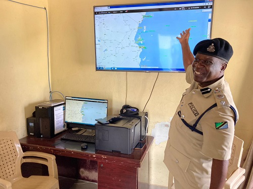 Visit to the Tanzania Marine Police Unit HQ in Dar es Salaam - Image © UNODC