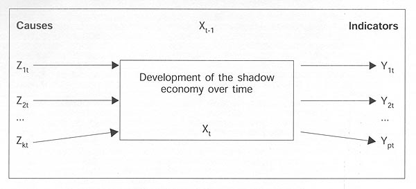 development of the shadow economy over time