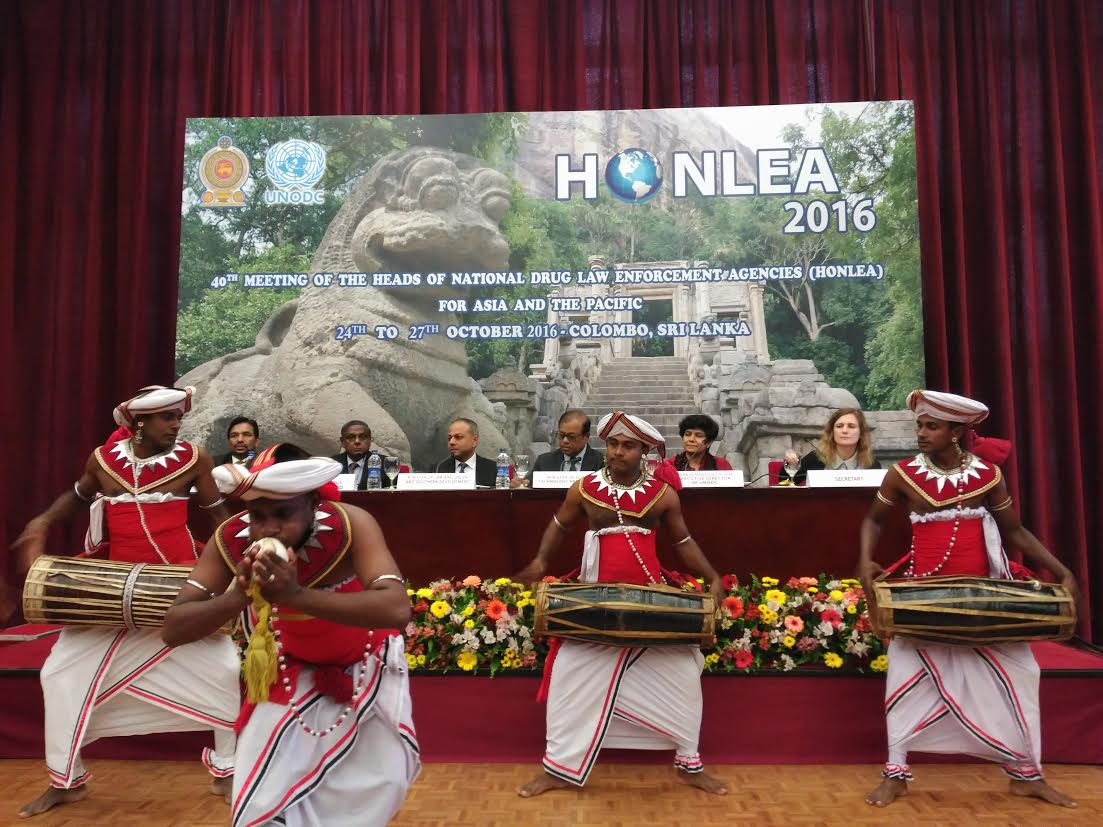 Opening of the 40th Meeting of the 40th Meeting of HONLEA Asia and the Pacific