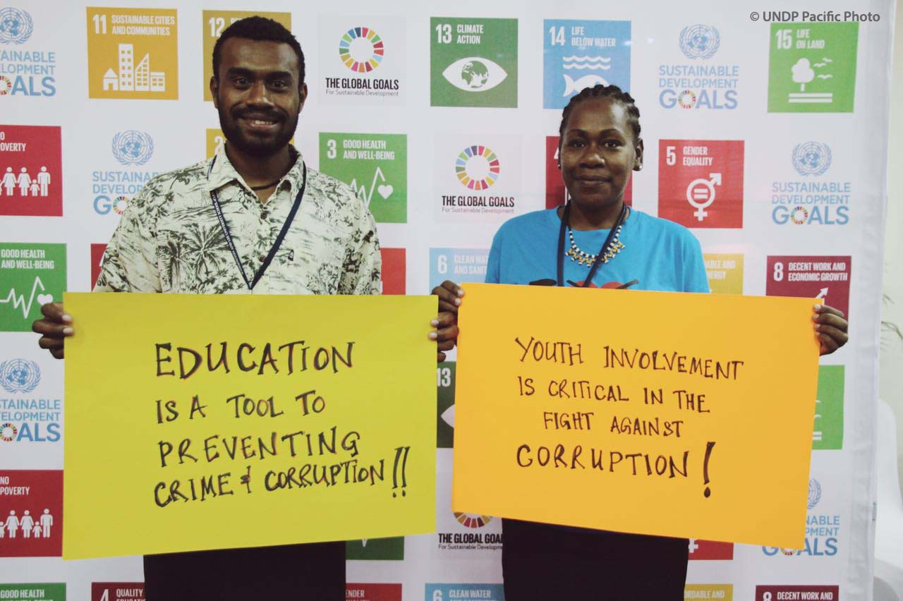 Innovation Lab gives Pacific youth space to develop creative solutions to corruption