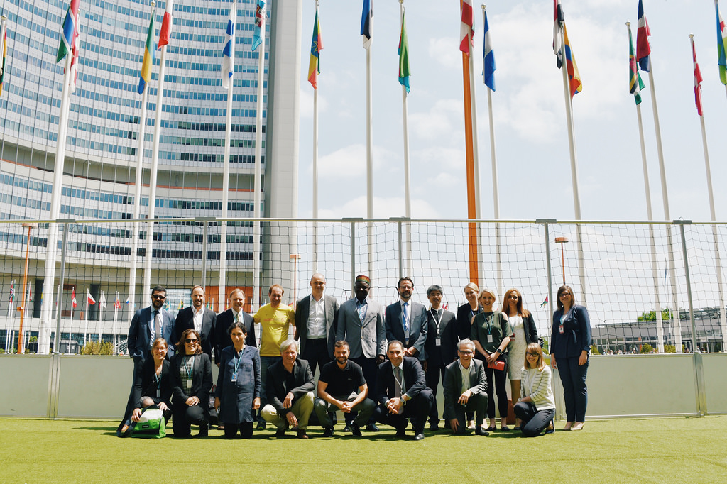 Evaluating impact: experts gather in Vienna to discuss UNODC's 'Line Up Live Up' life skills training curriculum