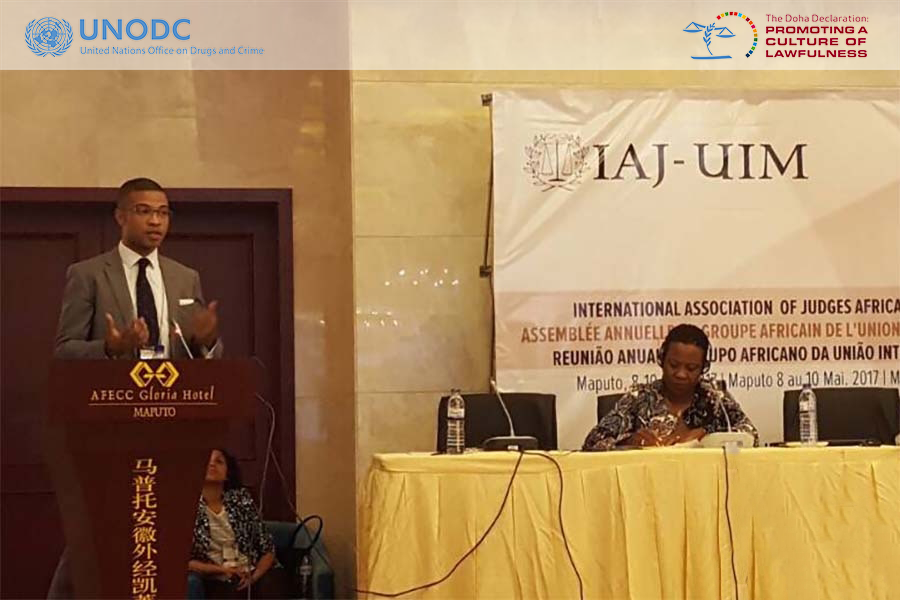 Promoting a culture of lawfulness through strengthening judicial integrity in Africa