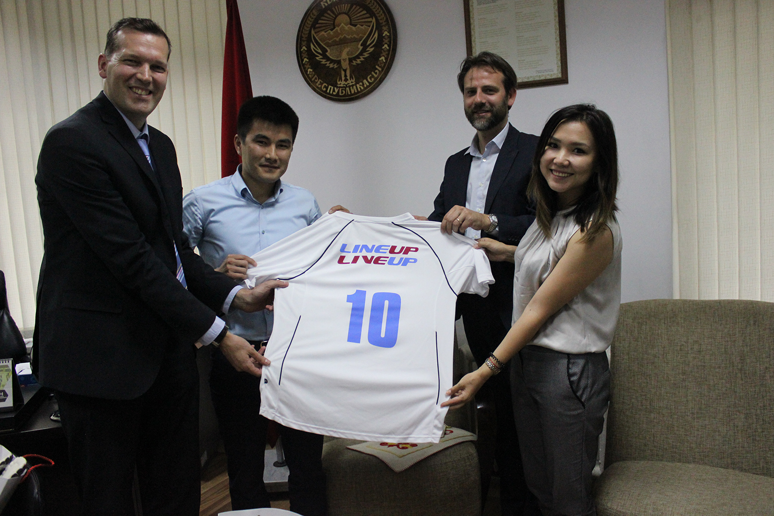 UNODC and Kyrgyzstan team-up to promote sports for youth crime prevention