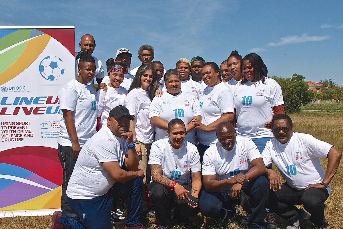Empowering sport trainers to build resilience of at-risk youth in Brazil and South Africa