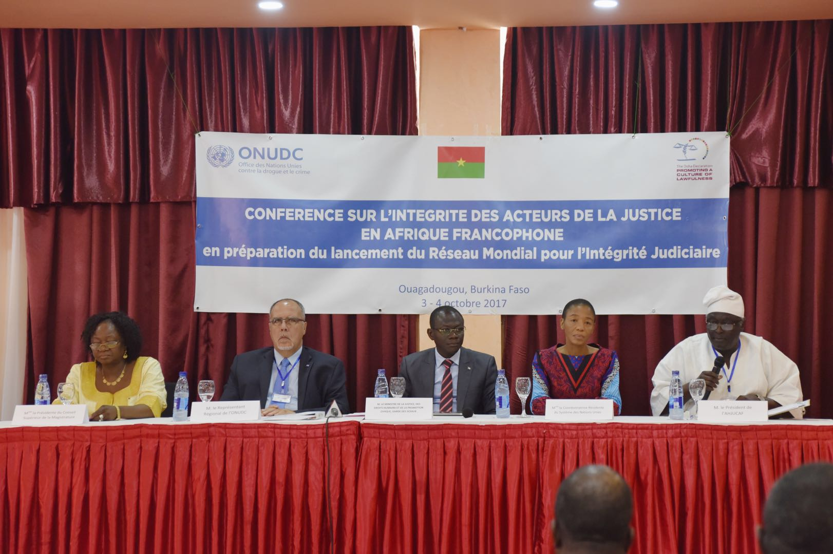 Francophone African judges adopted recommendations to strengthen judicial integrity and advance global anti-corruption efforts
