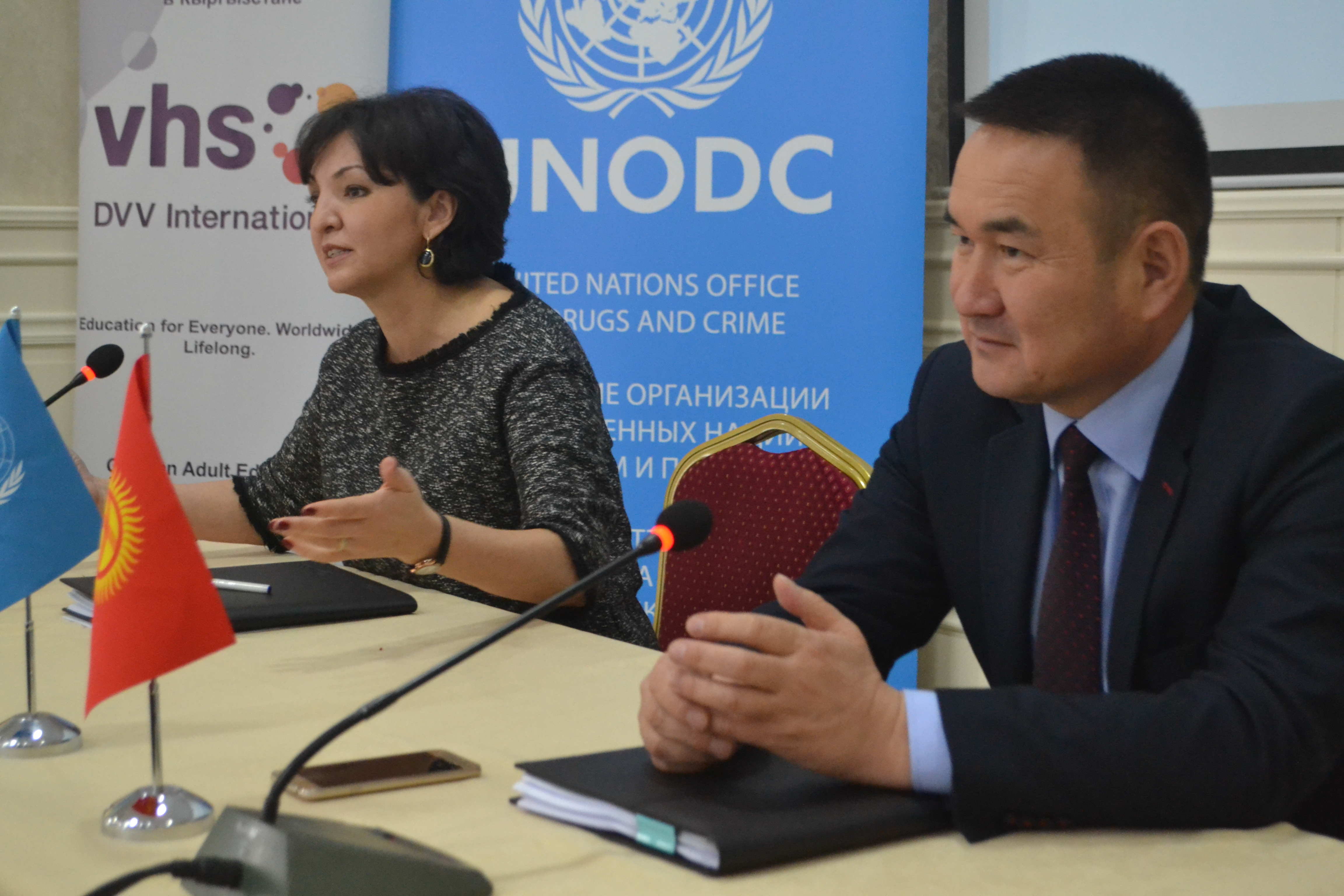 Zambia and Kyrgyzstan join forces with UNODC to promote public safety through supporting prison-based rehabilitation programmes