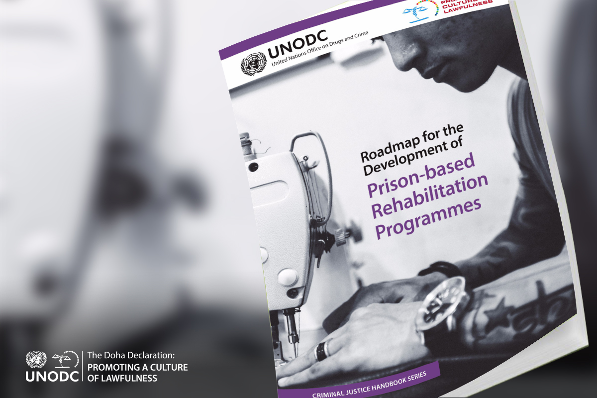 Roadmap to a new chance: UN releases new guidance for prison-based rehabilitation
