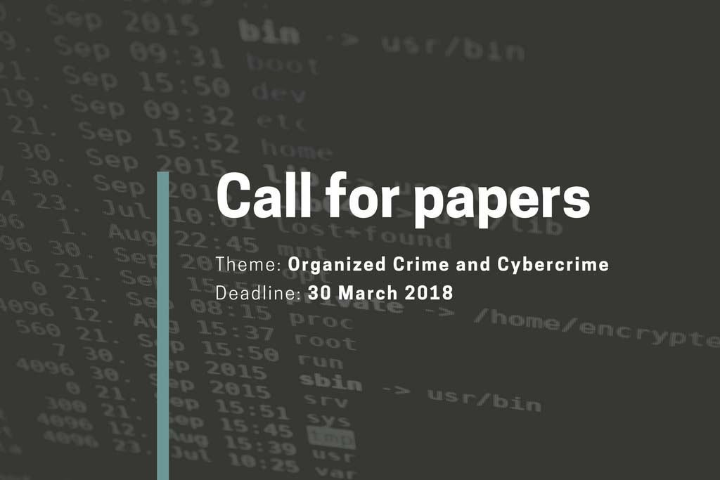 Call for Papers: Linking Organized Crime and Cybercrime @ Hallym University | Chuncheon-si | Gangwon-do | South Korea