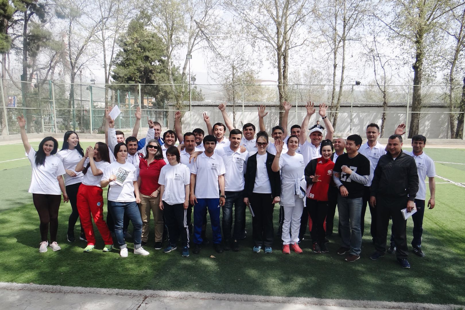 UNODC and Tajikistan work together to build youth resilience through sport