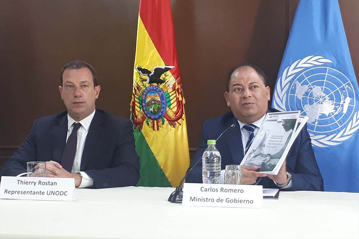UNODC and Bolivia launch innovative project for female prisoner vocational training in the field of construction