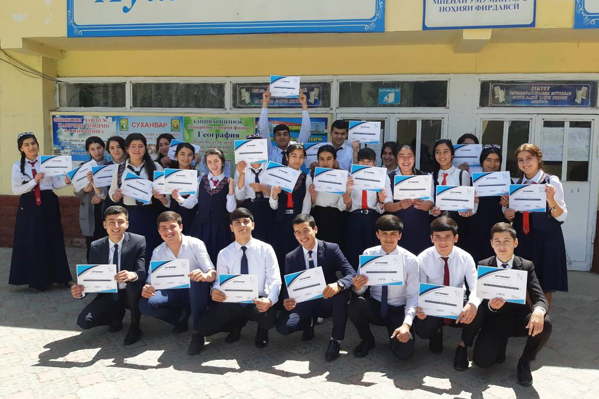 Strengthening resilience among youth through sport in Central Asia
