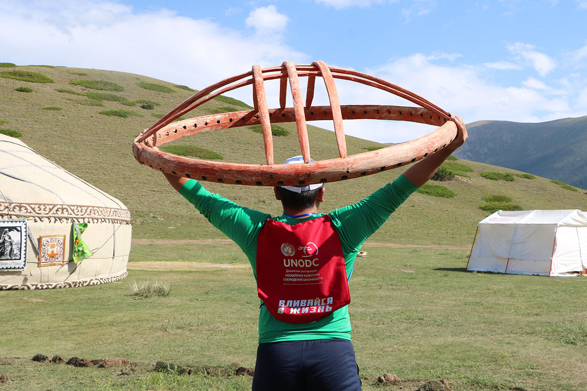 UNODC small grants scheme for sports-focused, youth development CSOs in Kyrgyzstan now open