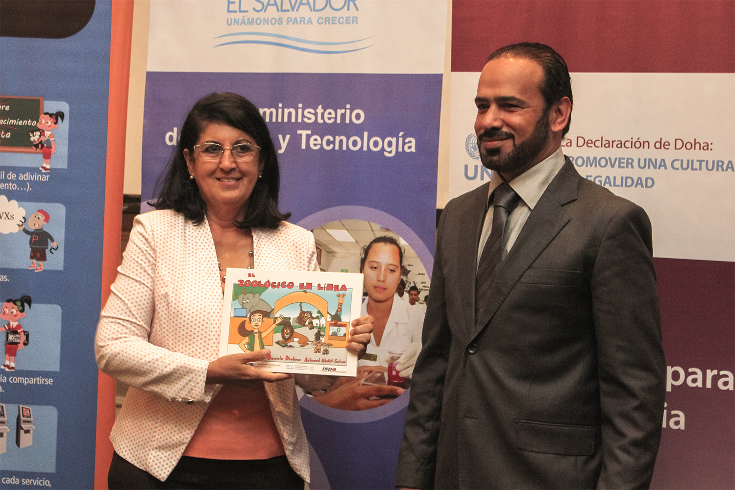 E4J materials: an integral part of El Salvador's national school campaign on cybercrime prevention