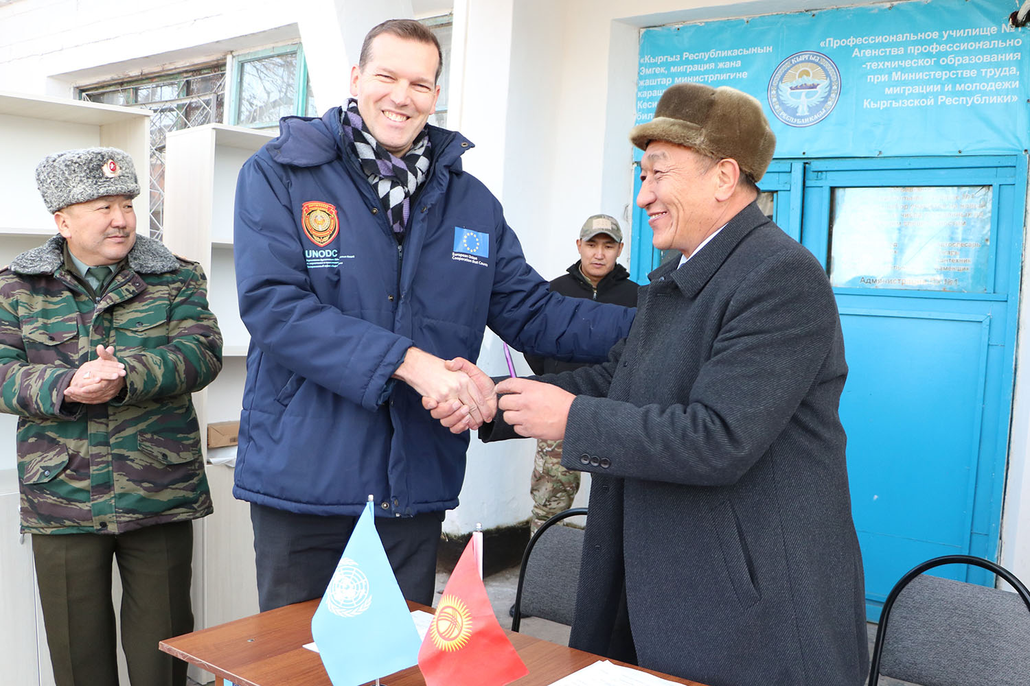 New rehabilitation opportunities for prisoners in Kyrgyzstan