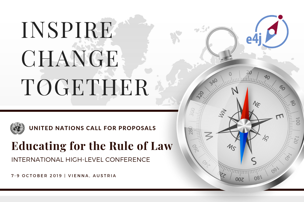Call for Proposals: International High Level Conference on Educating for the Rule of Law