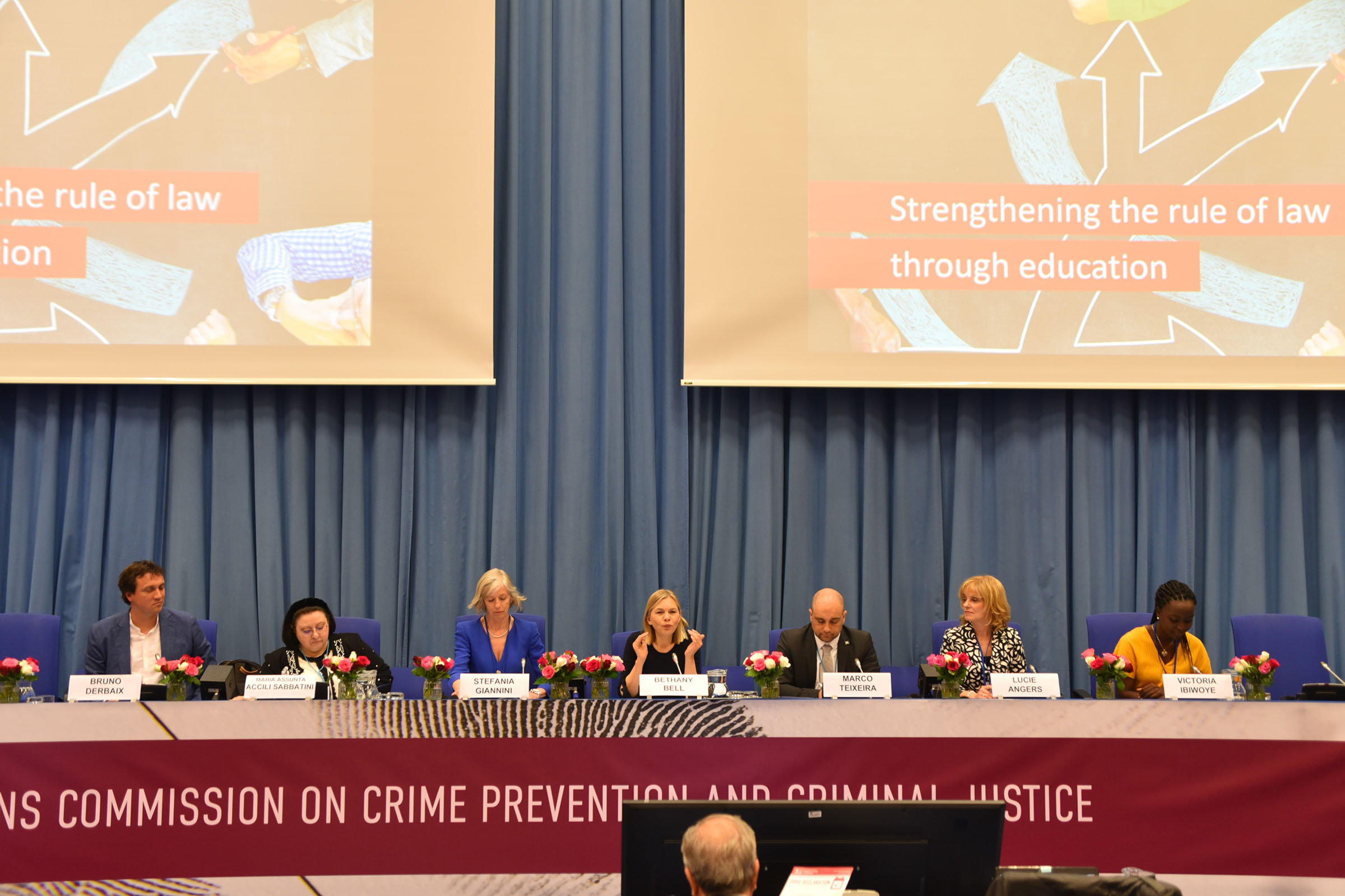 Strengthening the rule of law through education – a special CCPCJ side event