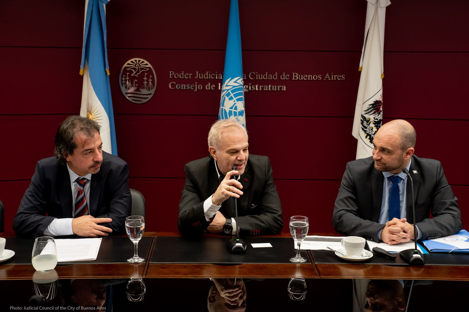 Judicial Council of Buenos Aires to promote rule of law with Global Programme's Ethics Training Tools