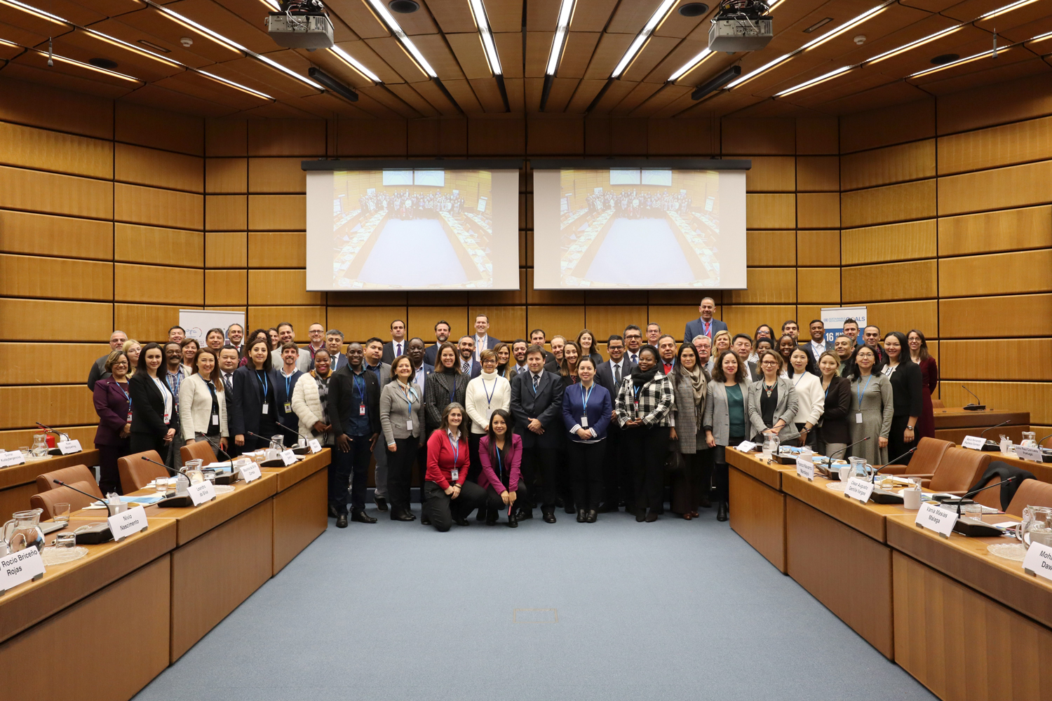 Global gathering in Vienna marks the successes of UNODC's Line Up, Live Up