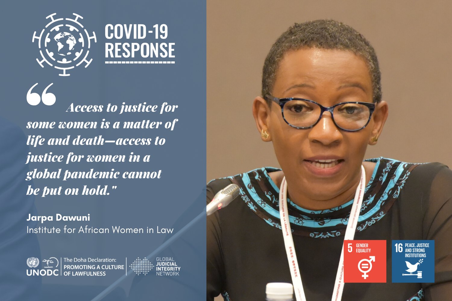 The Gendered Face of COVID-19: Women and Access to Justice