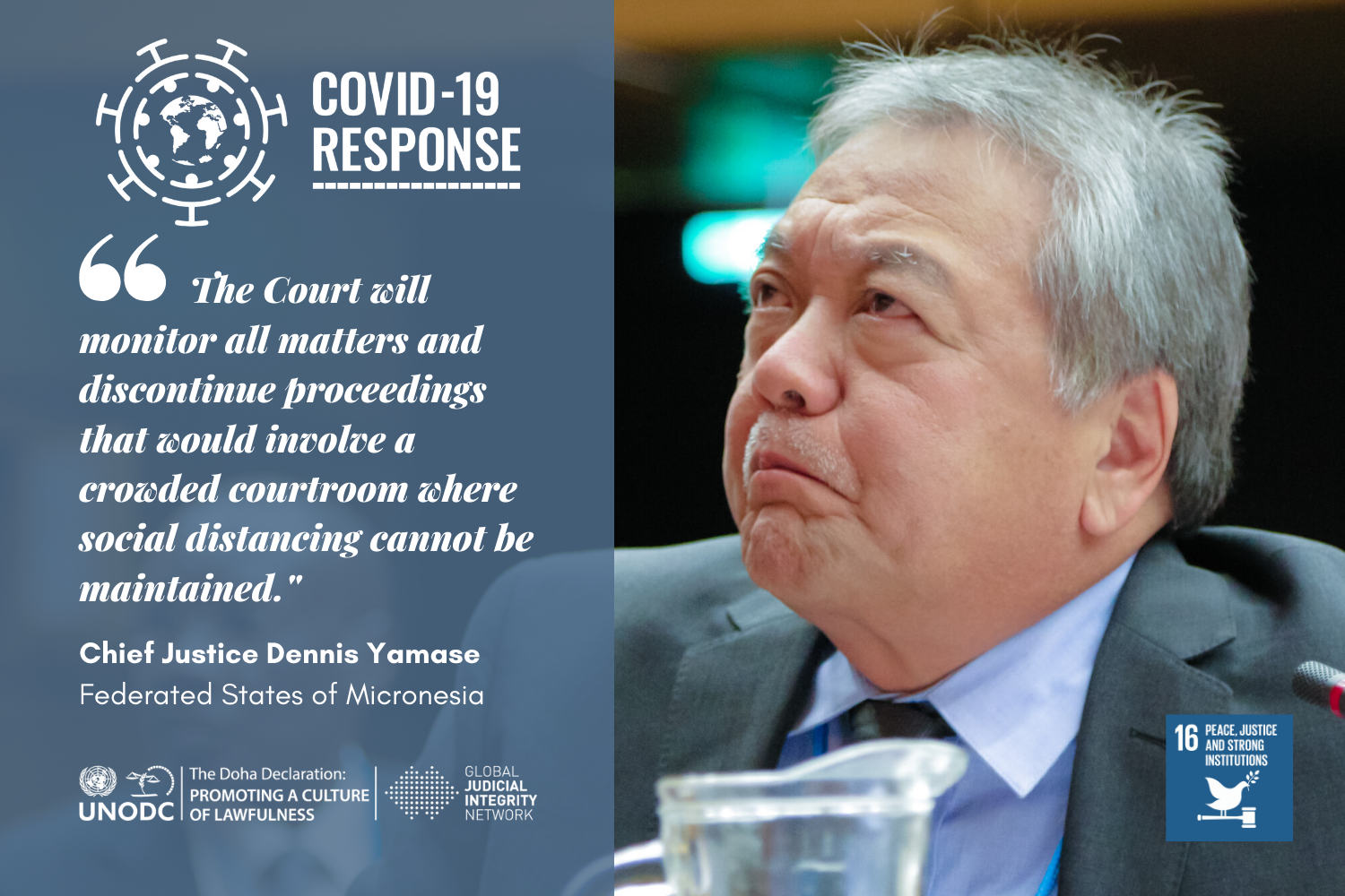 The Supreme Courts Efforts to Prevent COVID-19s  Entry into the Federated States of Micronesia