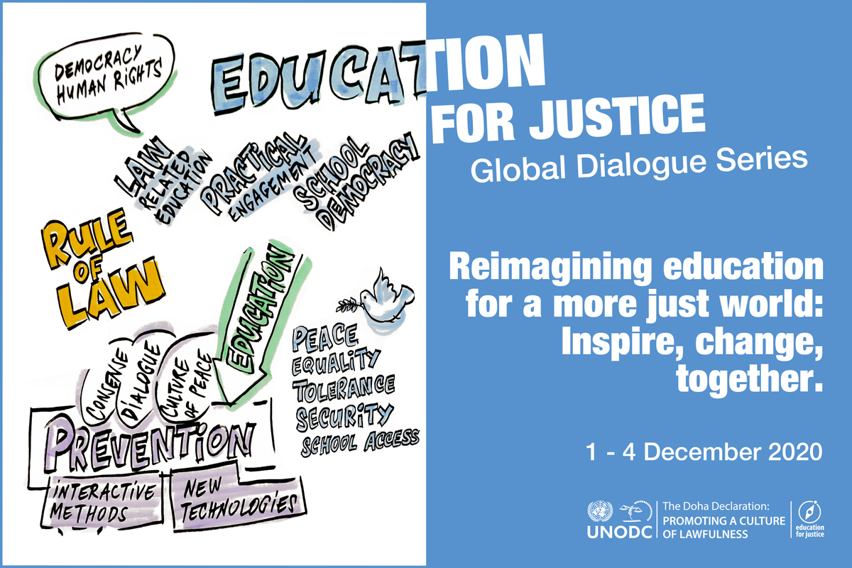 Reimagining education for a more just world: inspire, change, together