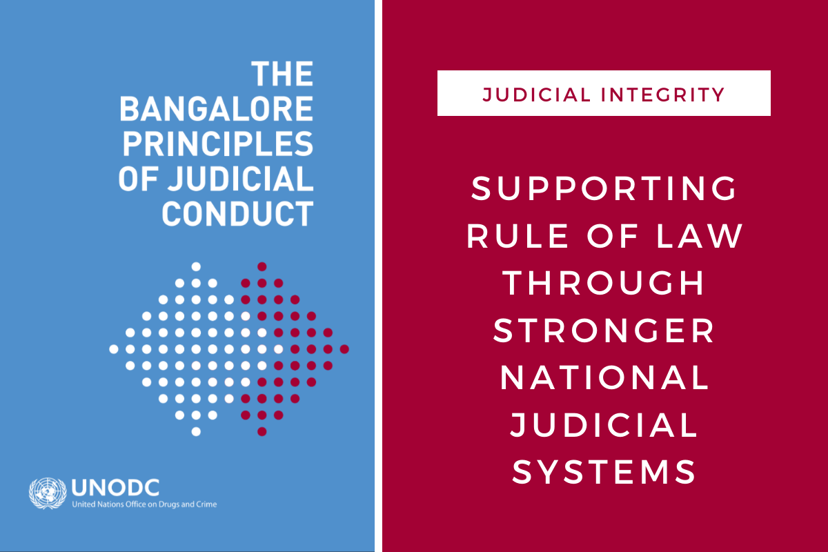 Supporting rule of law efforts in Mali, UNODC and MINUSMA work to strengthen national judicial systems