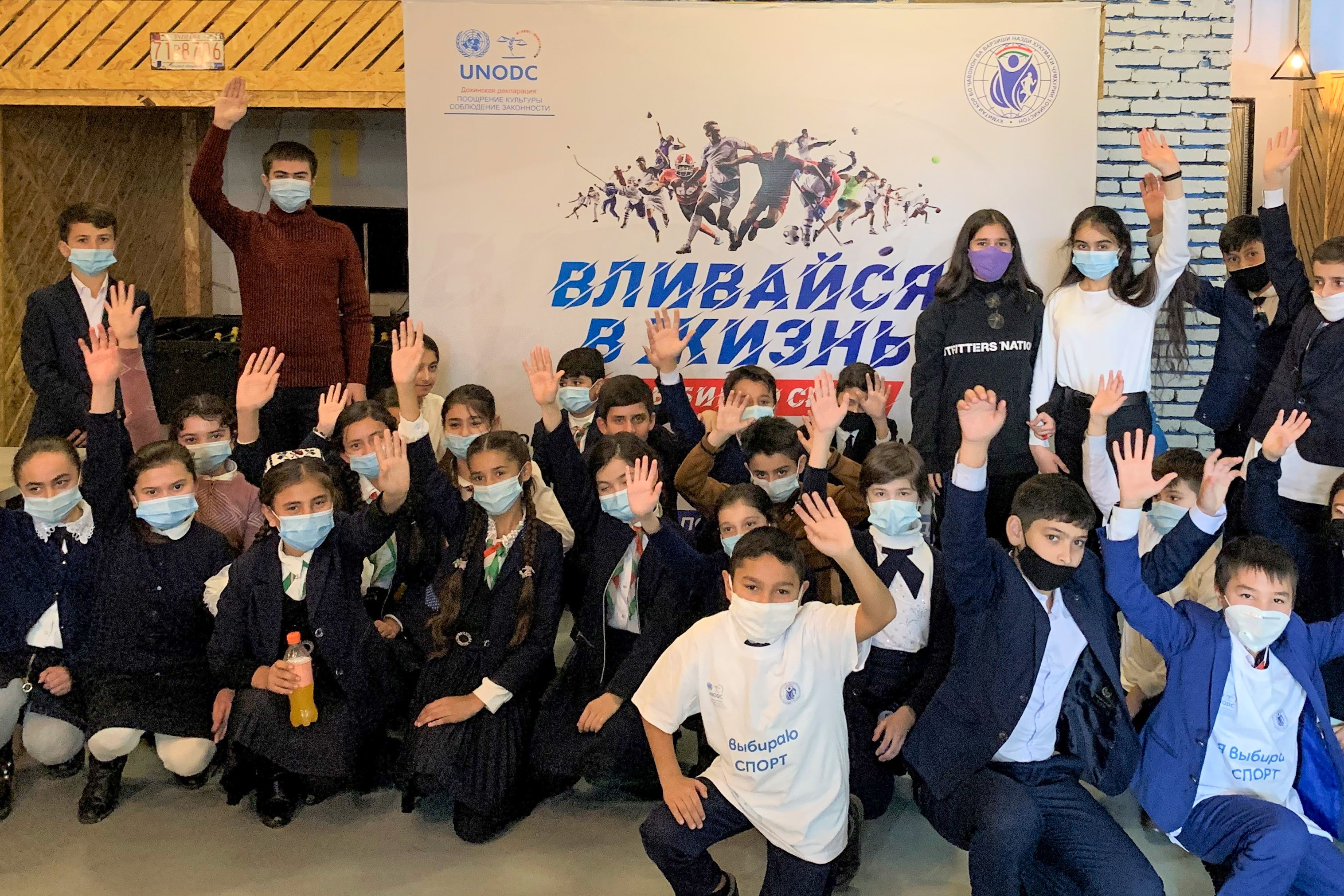 Leaving no one behind: Strengthening youth resilience during and after the pandemic in Tajikistan