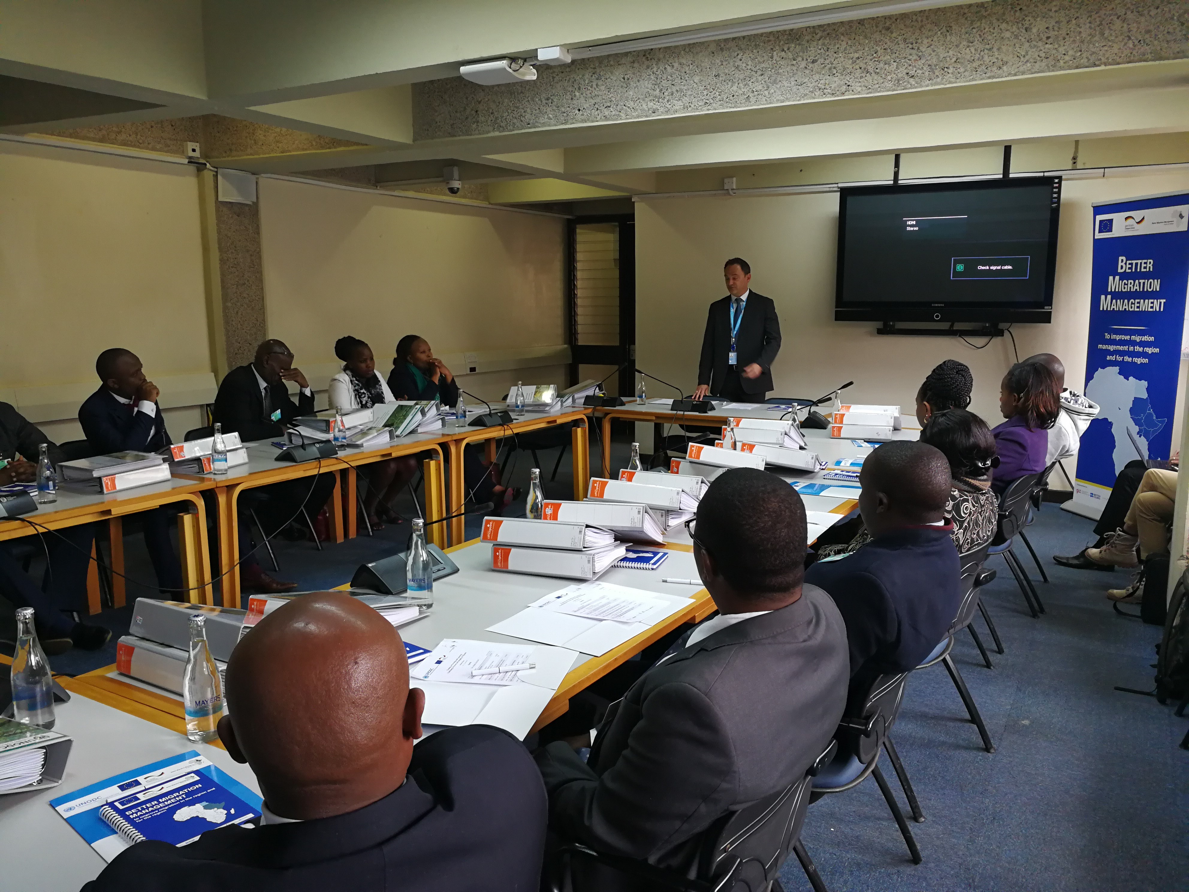 Regional training series on Preventing and Countering Trafficking in