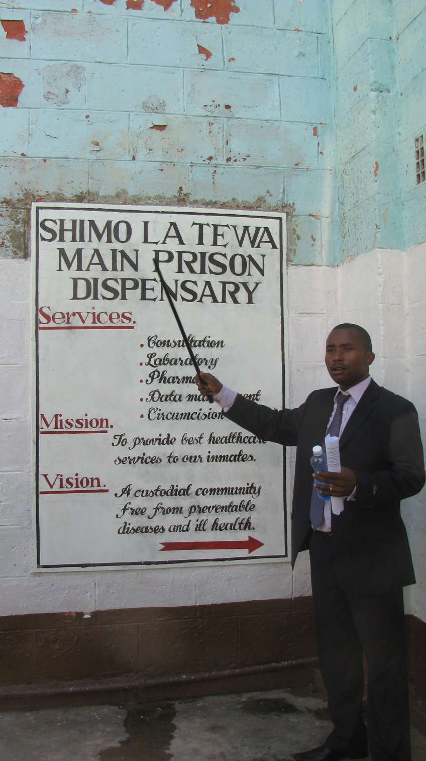 ... cooperation with the Kenya Prison Service, helps to achieve the  standards set in the Mandela Rules, at Rules 24, 25 and 26. It also,  through its method ...