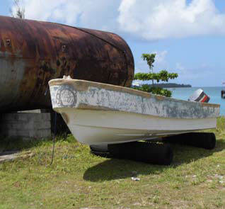Skiff captured by Seychelles Coast Guard