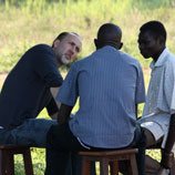 Photo:UNODC: Nicolas Cage in Gulu, Uganda