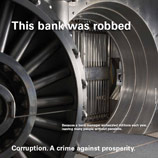 "Photo: UNODC: UNODC Corruption Campaign ""Your NO Counts"""