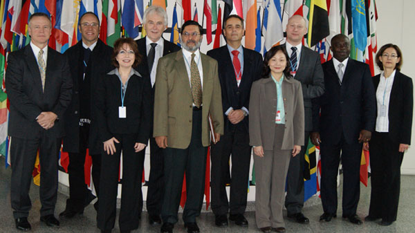 Photo: UNODC: Experts attending the International Forensic Strategic Alliance Meeting held in Vienna, 28-29 February 2012