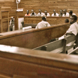 Alleged Somali pirates on trial in Mombasa, Kenya. Photo: UNODC