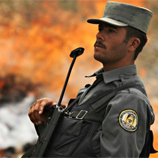 Photo: UNODC/An Afghan national police officer