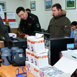 Handover of equipment to State Service on Drug Control of Kyrgyzstan