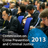 22nd Session of the Commission on Crime Prevention and Criminal Justice, Vienna, 22-26 April 2013