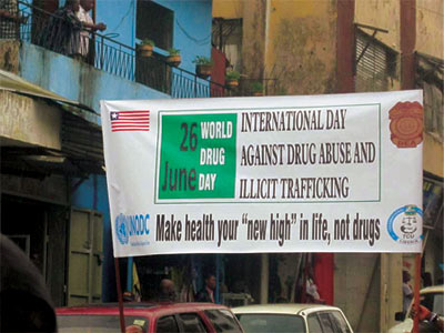 World Drug Day 2013: Liberia