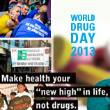 UNODC World Drug Day 2013