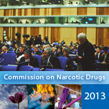 Fifty-sixth Session of the Commission on Narcotic Drugs opens in Vienna