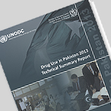 Drug Use in Pakistan 2013 Technical Summary Report cover