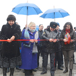 Official opening of a new police station in Jalal-Abad, Kyrgyz Republic