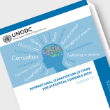 International Classification of Crime for Statistical Purposes. Photo: UNODC